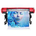 bredt format 6 farger flexo banner klistremerke løsemiddel blekkskriver