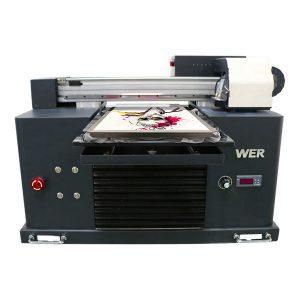 DTG skriver direkte til plagg uv flatbed skriver t-skjorte utskrift maskin