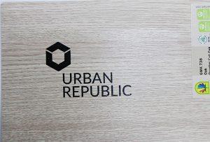 Logo utskrift på tre materialer av WER-D4880UV 2