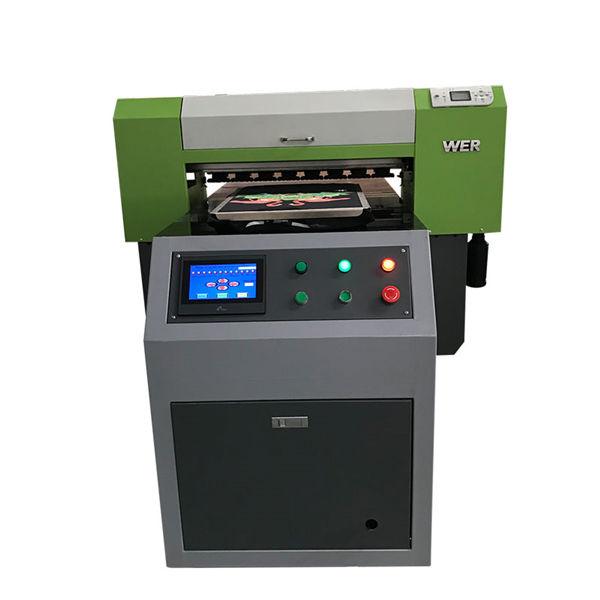 Bestselgende T-skjorte Tekstil Flatbed Printer Akryl Garment Printer Flatbed Printing Machine