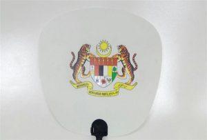 Plastventilprøve trykt av A1-størrelse uv-skriver 6090UV
