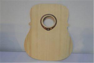 Tre gitar prøve fra A2 størrelse uv skriver WER-DD4290UV